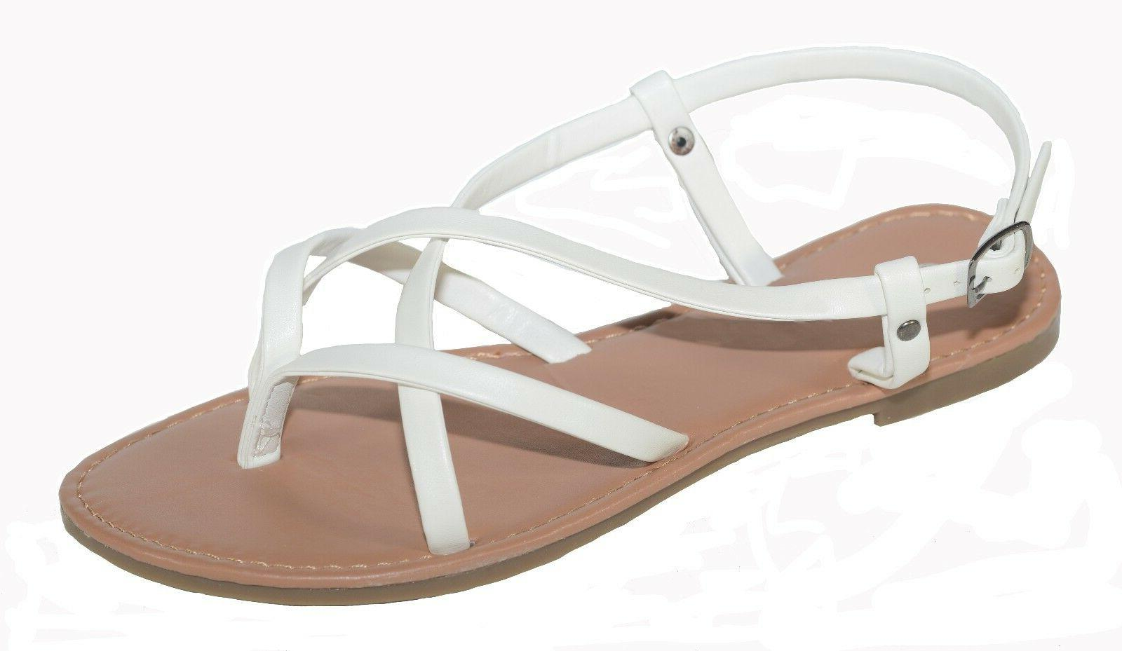 New Women Shoes Thong Flops Strap Flip Flat Strappy Toe