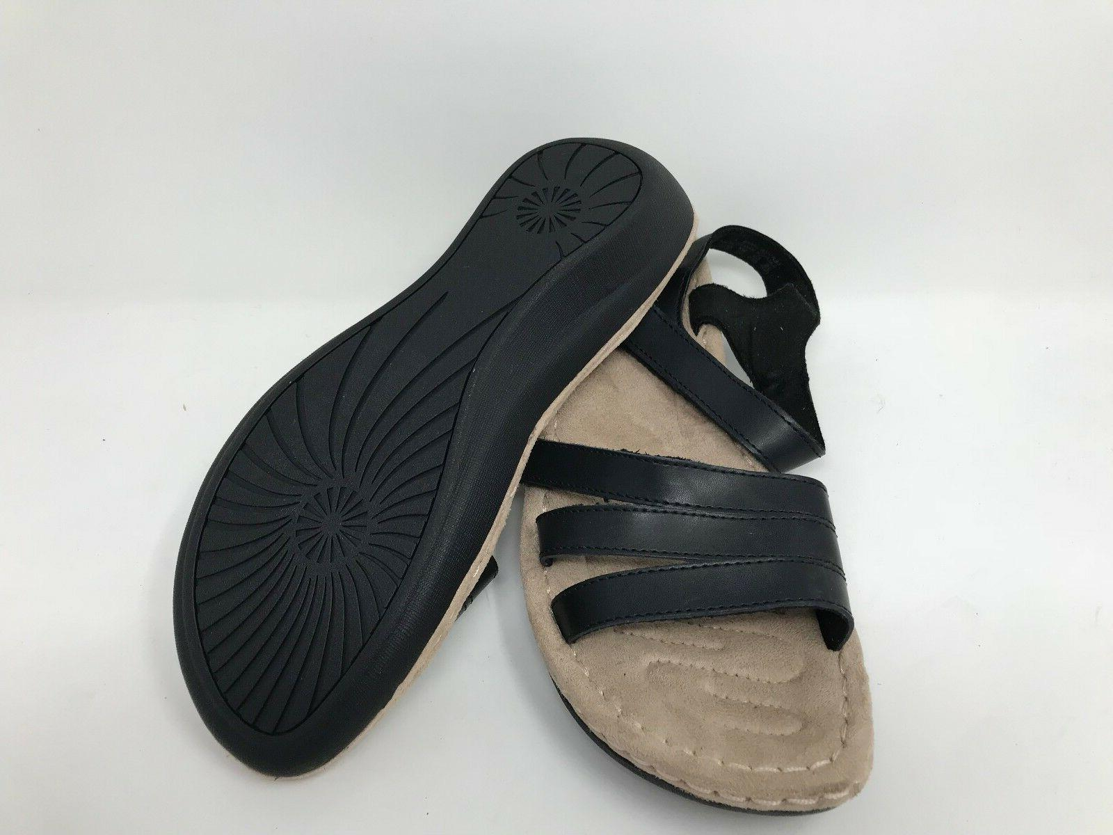 New! 52197 Ritza Wedge Sandal - Black R16