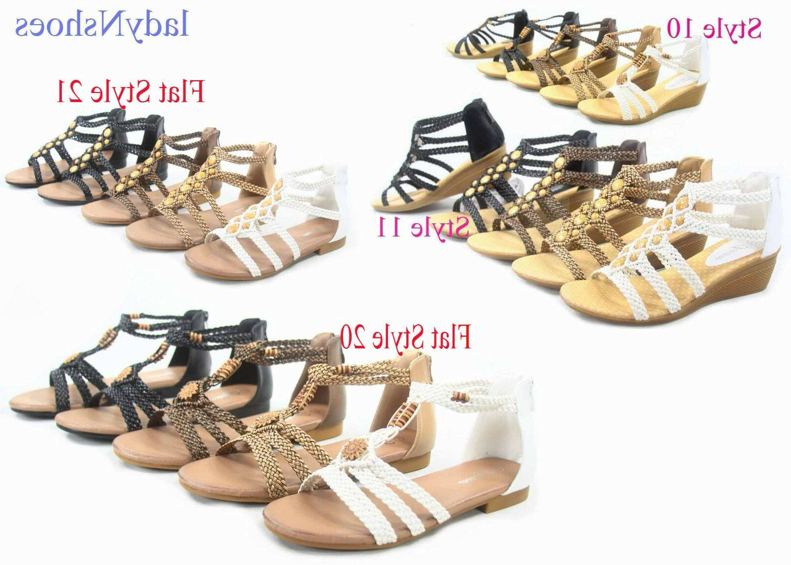 new women s low wedge ankle strap