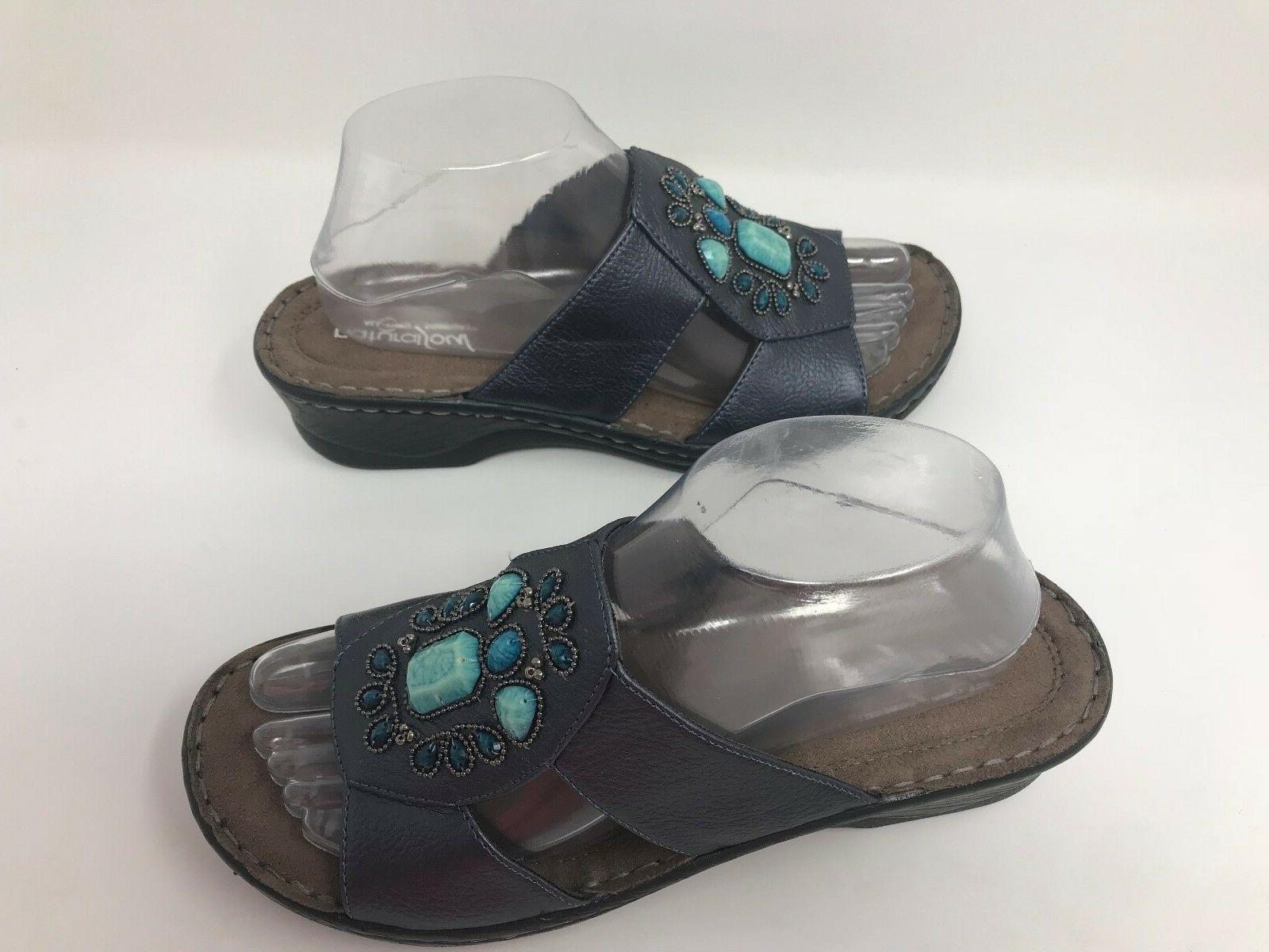 New! by Naturalizer Saymore Sandals Pewter