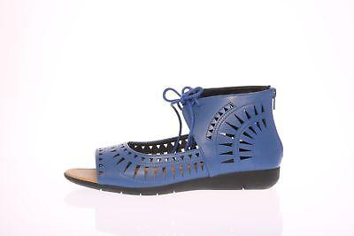 NIB- COMFORT VIEW Women's 'AVERIE' Royal Navy WEDGE SANDALS