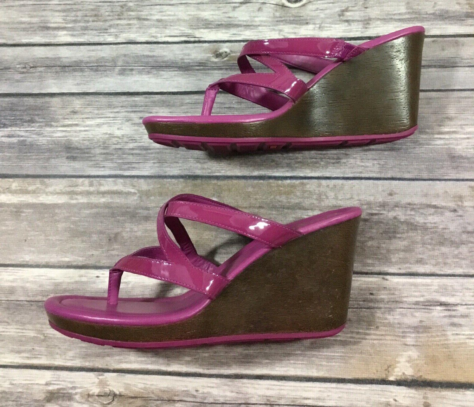 Cole Haan NWOB Strappy Purple Patent