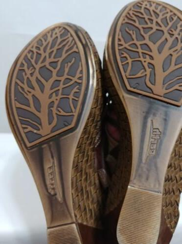 Earth Paradise Sandals Dark Size M