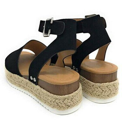 Women Fashion Platform Casual Shoes Open