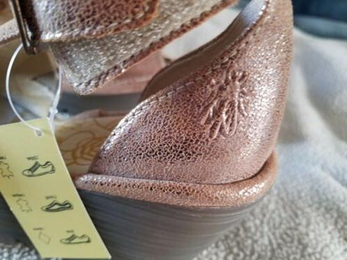 FLY London Leather Ankle Yehi US 5.5