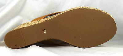 Tory Burch Suzy Tumbled Leather Wedge Sandals