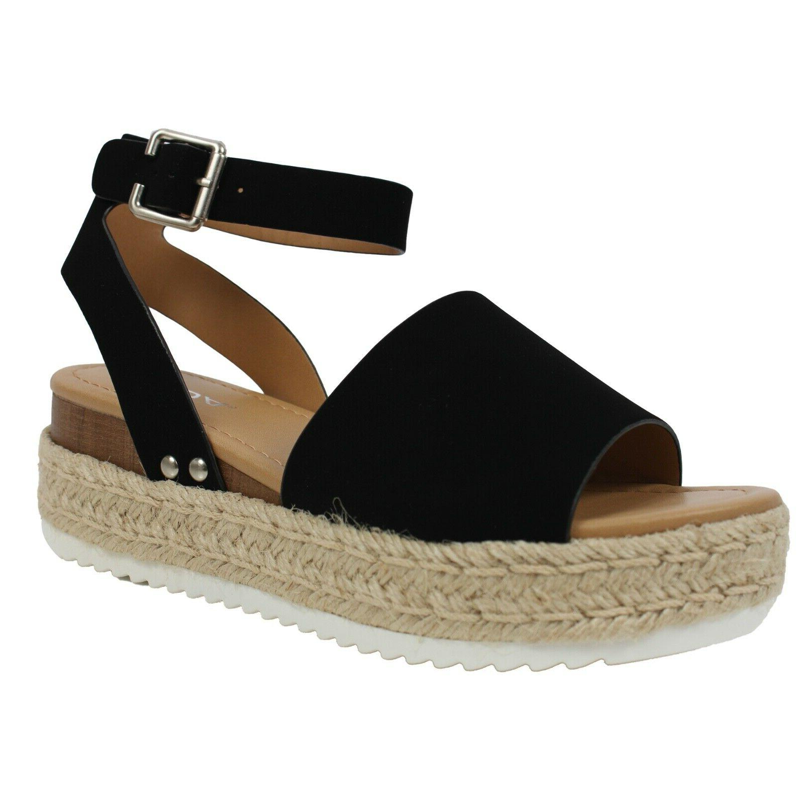 Soda TOPIC-S Platform Sandals