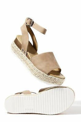 topic espadrilles flatform studded wedge open toe