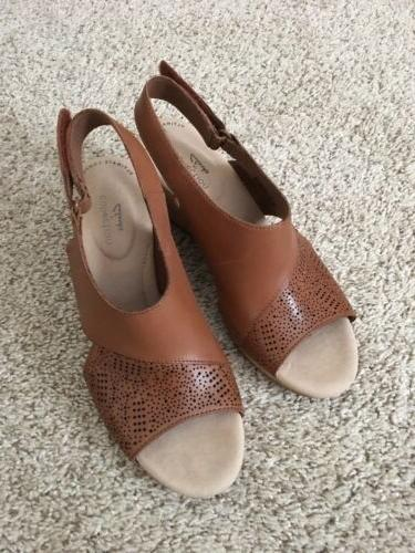 ultimate comfort wedge sandals size 7 5