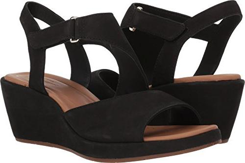 un plaza sling wedge sandal