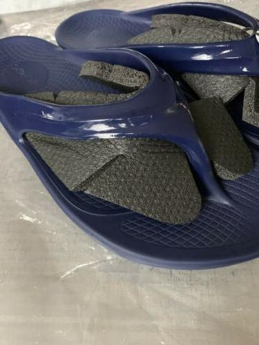 Navy Flip Flops Recovery For Your Feet W10 M