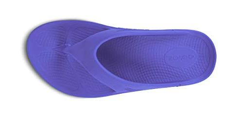 OOFOS Unisex Ooriginal - Recovery Thong - Periwinkle M11/W13
