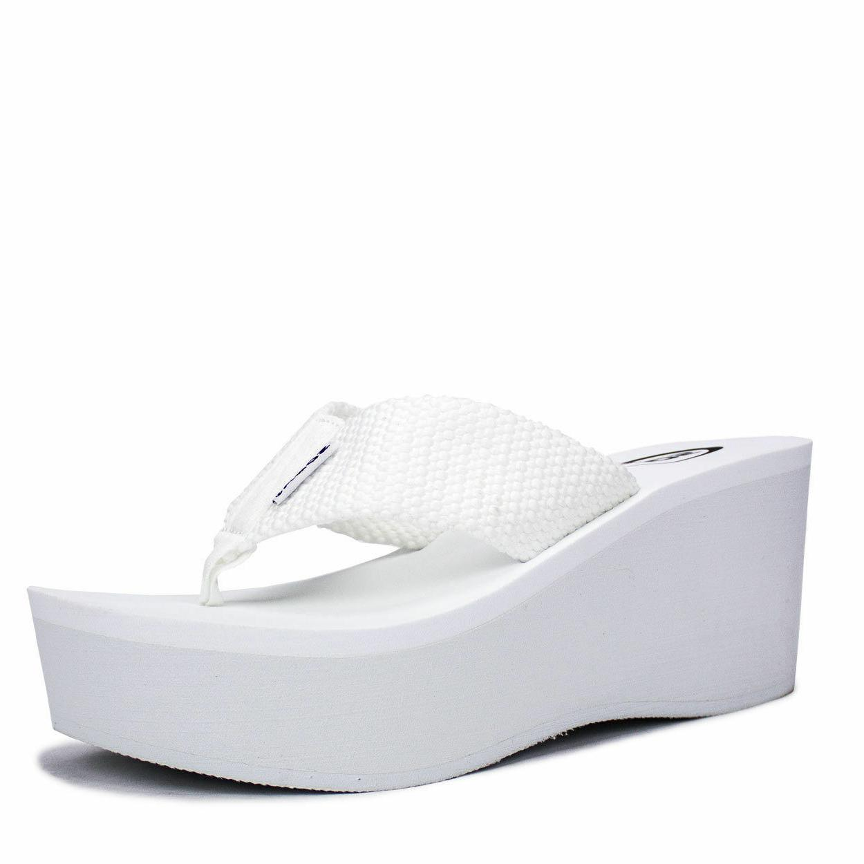 "WEDGE 3"" PLATFORM SANDALS SODA"
