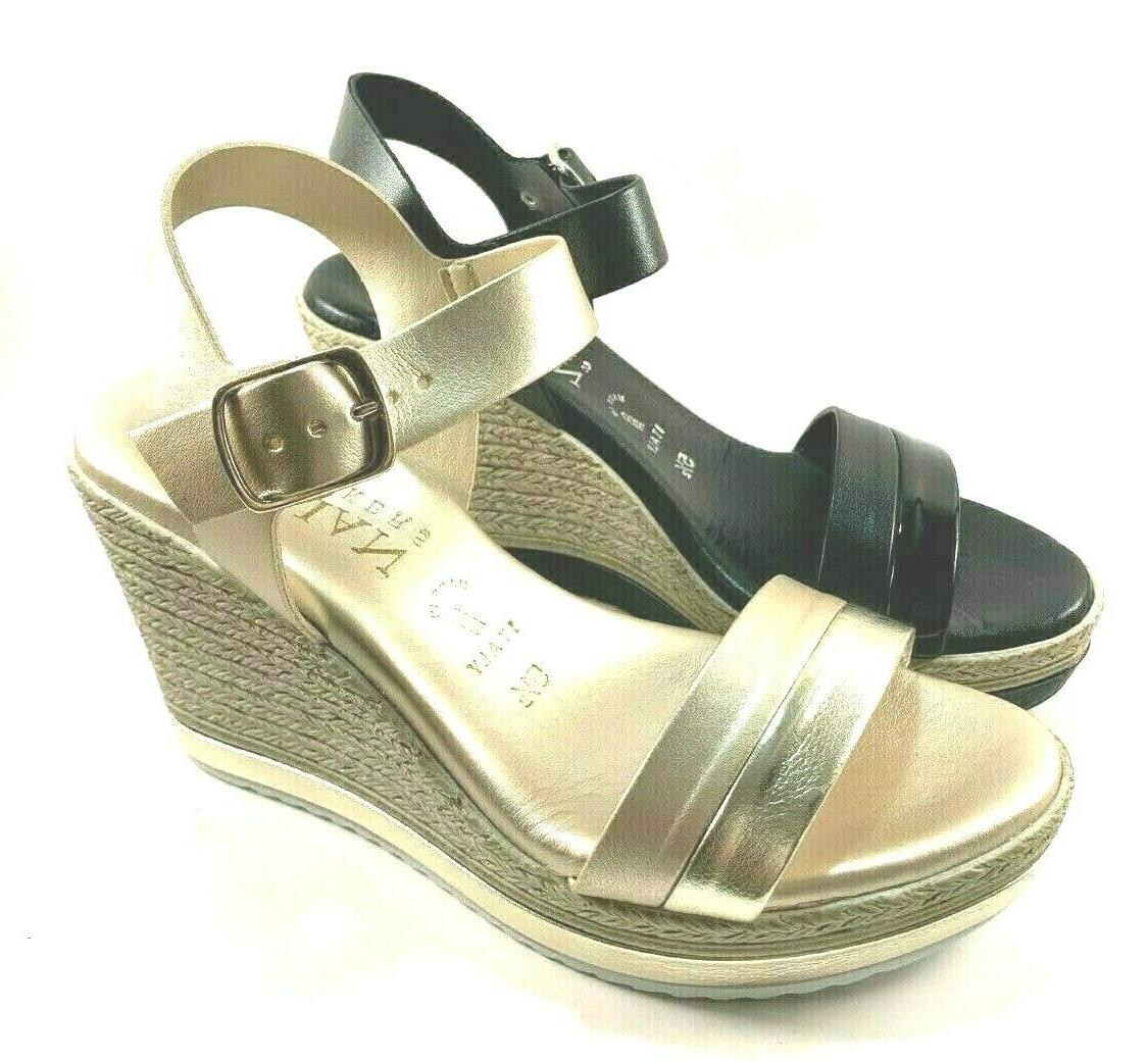 wella high wedge platform sandals choose sz