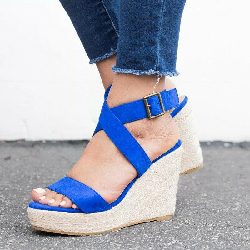 Women Sandals Ladies Platform Heels