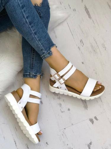 Women Sandals Ladies Ankle Strap Slingback