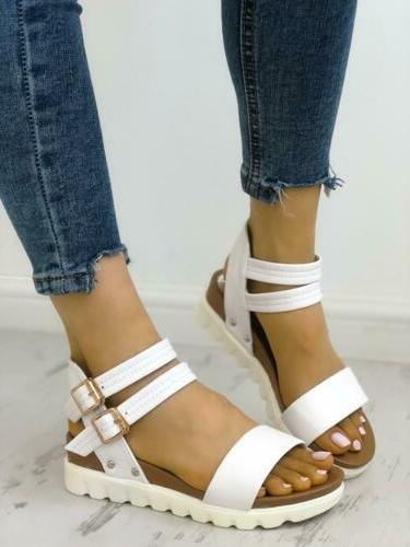 Women Sandals Platform Ankle Strap