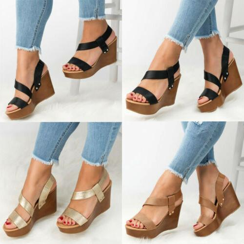 Women's Ankle Ladies Summer PU Shoes