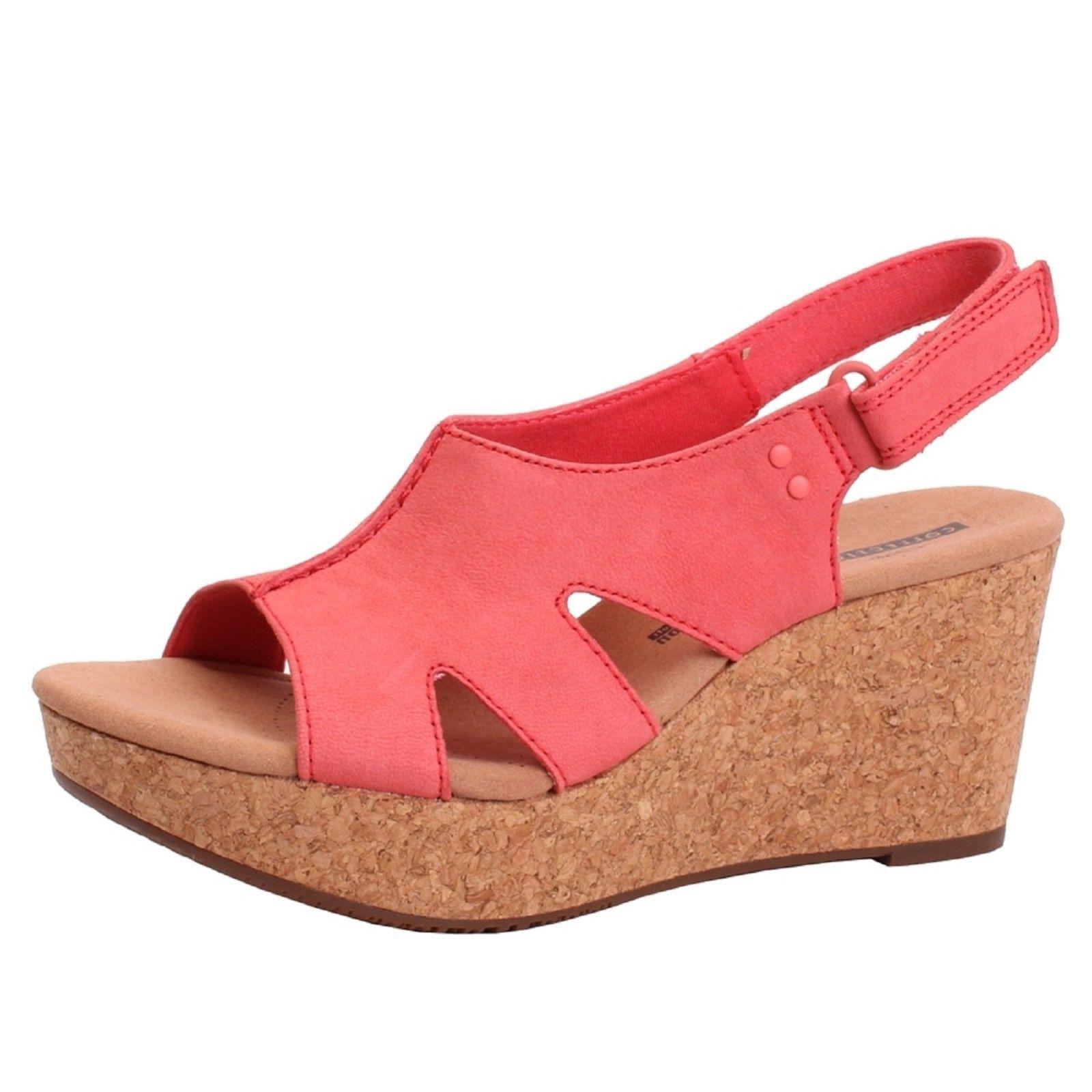 Women's Clarks ANNADEL BARI 26132951 Coral Sticking Strap We