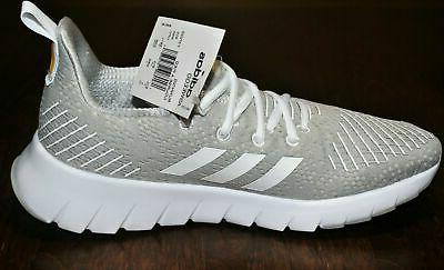 adidas Gray & White Shoes