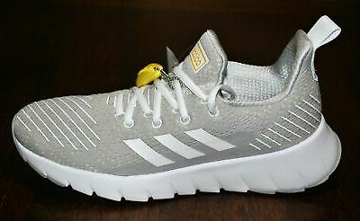 women s asweego gray and white running