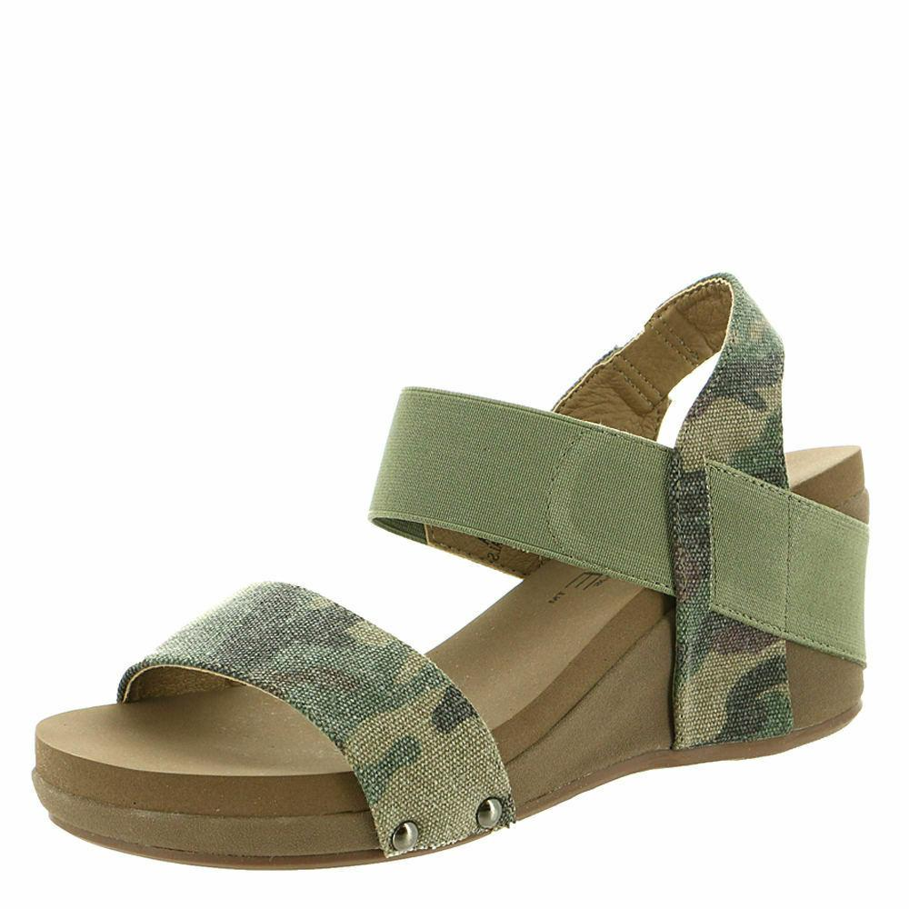 women s bandit wedge sandal camo choose