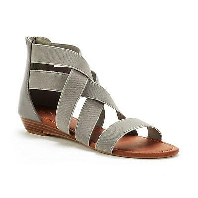 DREAM Summer Low Wedges Sandals