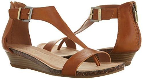 Kenneth Cole Great Gal Sandal, Toffee, 7.5 M