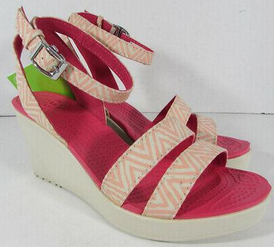 women s leigh graphic wedge melon stucco