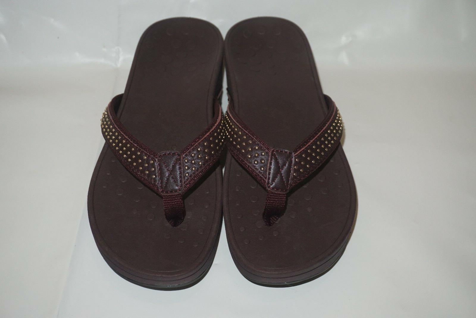 Women's VIONIC Pacific Kehoe Toe Thong Wedge Sandal - Size U
