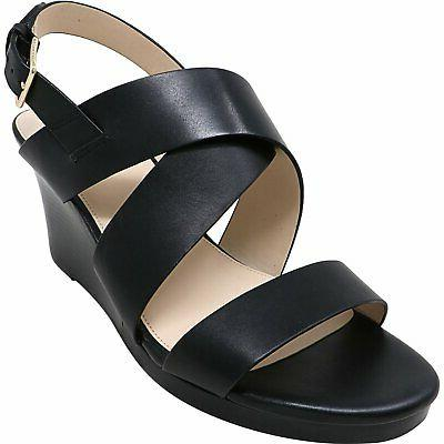 women s penelope leather ankle high wedged