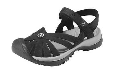 women s rose sandal black neutral gray