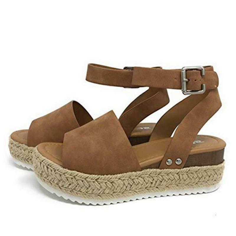 Women's Wedge Heel Platform Casual US