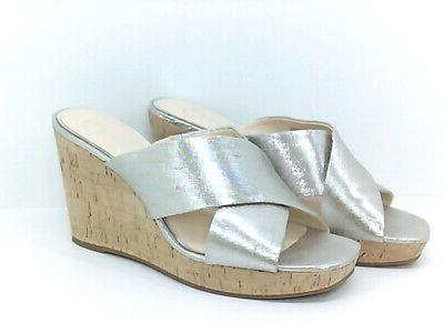 Jessica Simpson Wedge Shimmer Size 7.0 Kydb