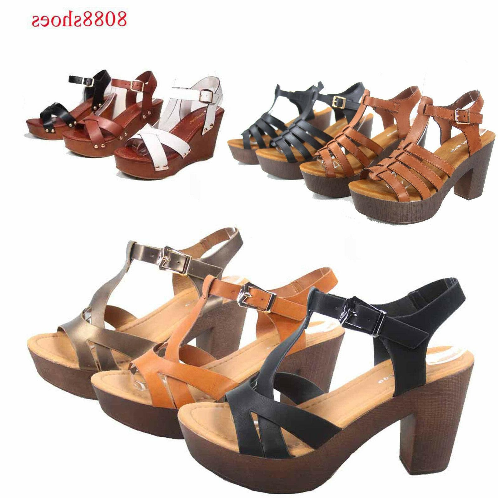 Women's Wedge Shoes All 5.5 10 NEW