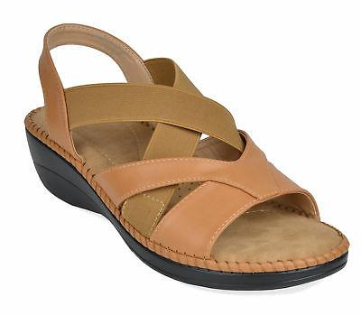 Dream Pairs Womens Open-Toe Platform Wedges Slip-On Sandals
