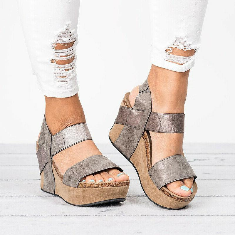 Women's Wedge Summer Sandals