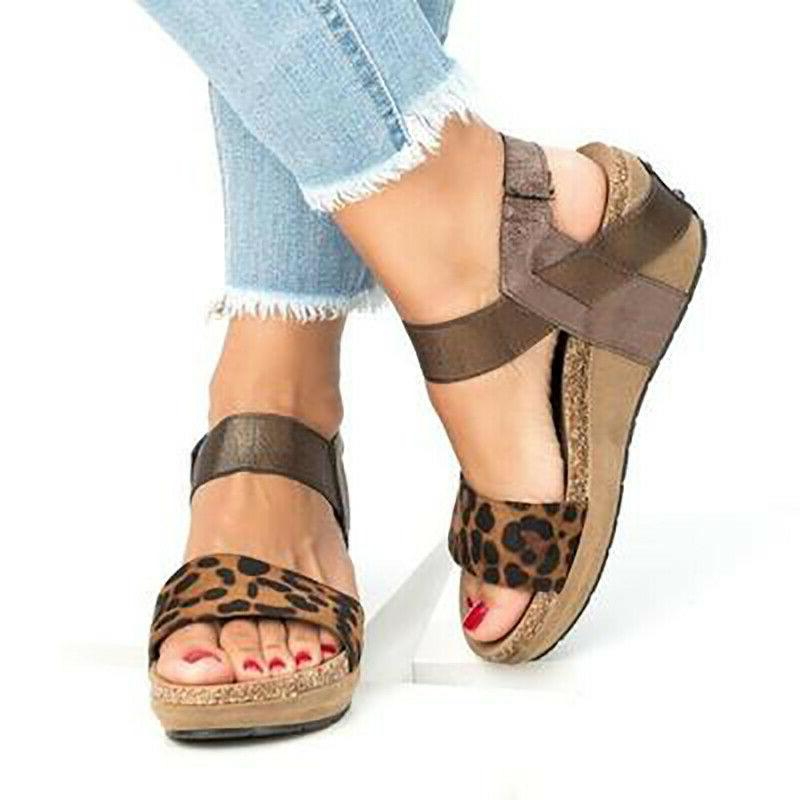 Women's Wedge Heel Summer Ladies USA
