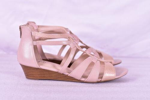 Women's Strappy Wedge Sandals,