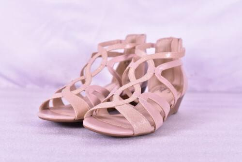 women s yacht strappy wedge sandals soft