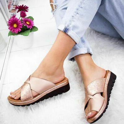 ⭐Women Wedge Ladies Slippers Shoe Corrector Arch