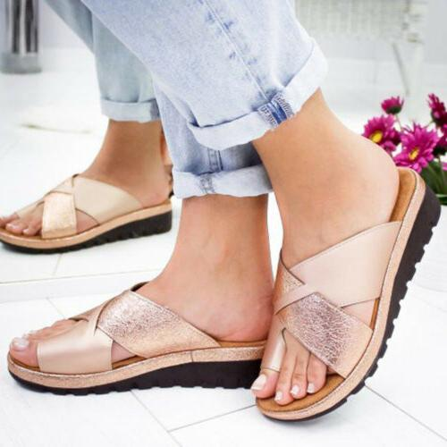 Women Sandals Ladies Bunion Corrector Arch Support