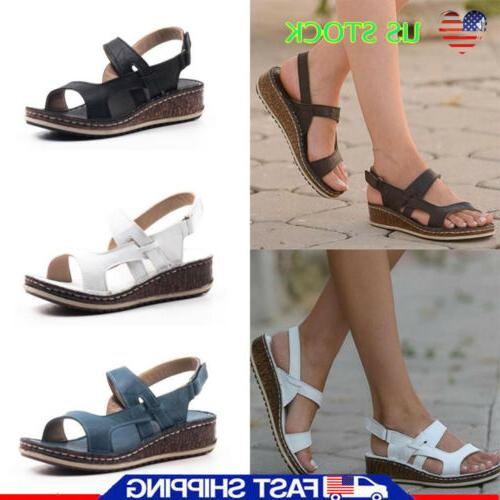 Womens Ankle Summer Heels 6-9