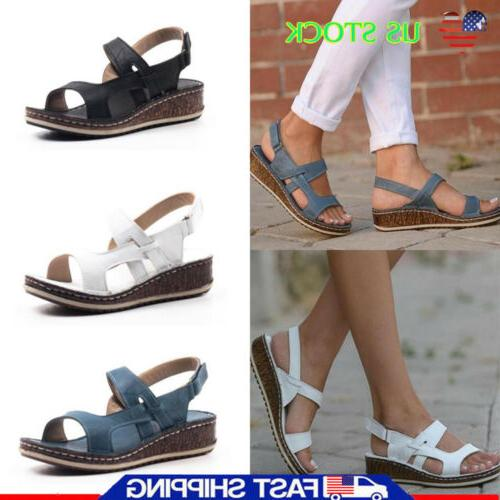 womens ankle strap gladiator summer beach low