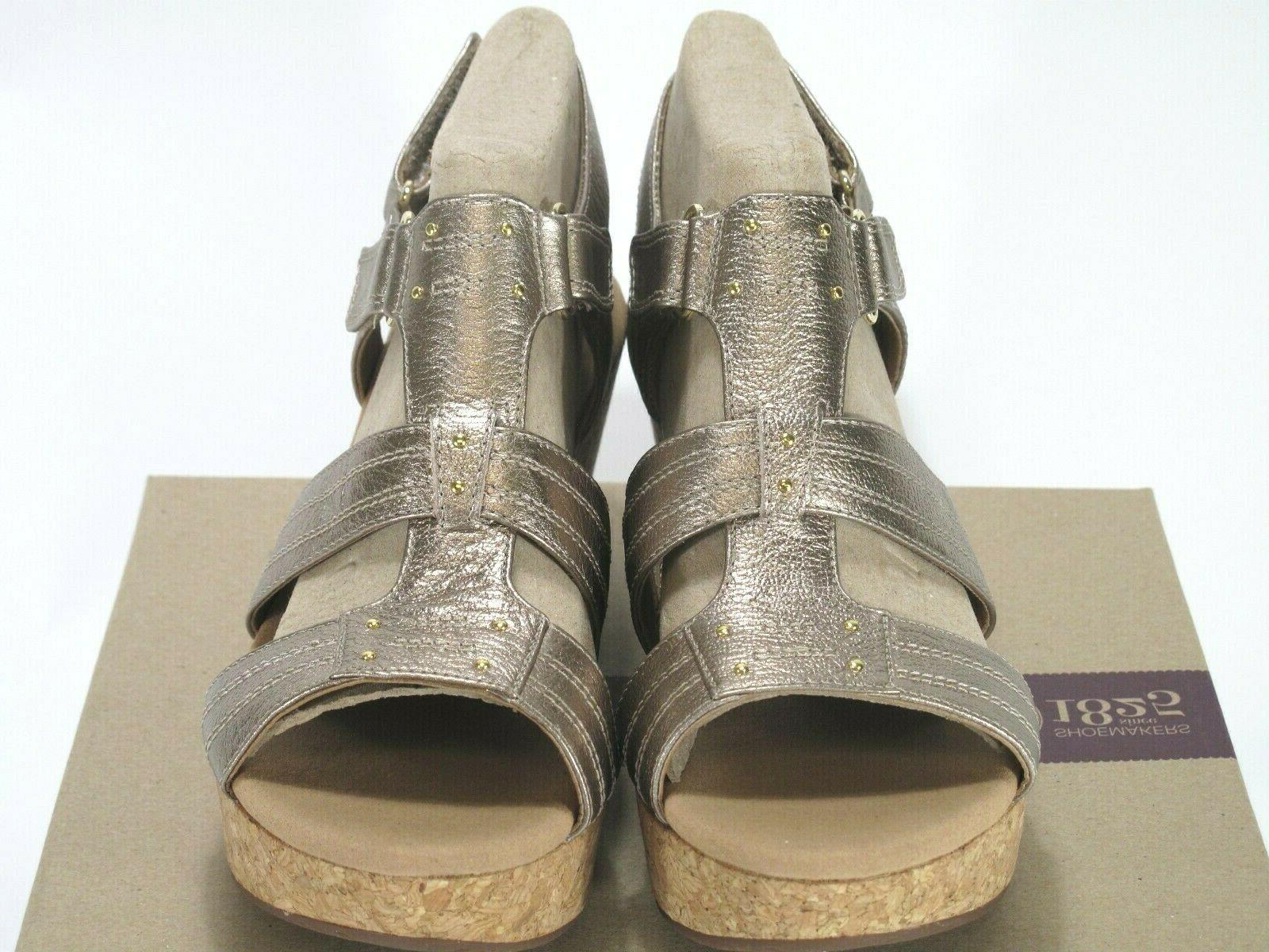 Clarks Womens Annadel Wedge Leather Size