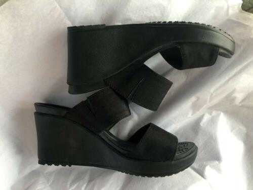 womens elegant and casual wedge sandals size