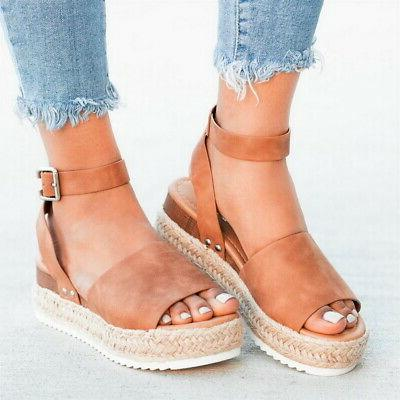 Women Fashion Casual Ankle Shoes Open