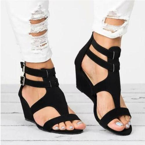 Womens Block Heel Ankle Shoes