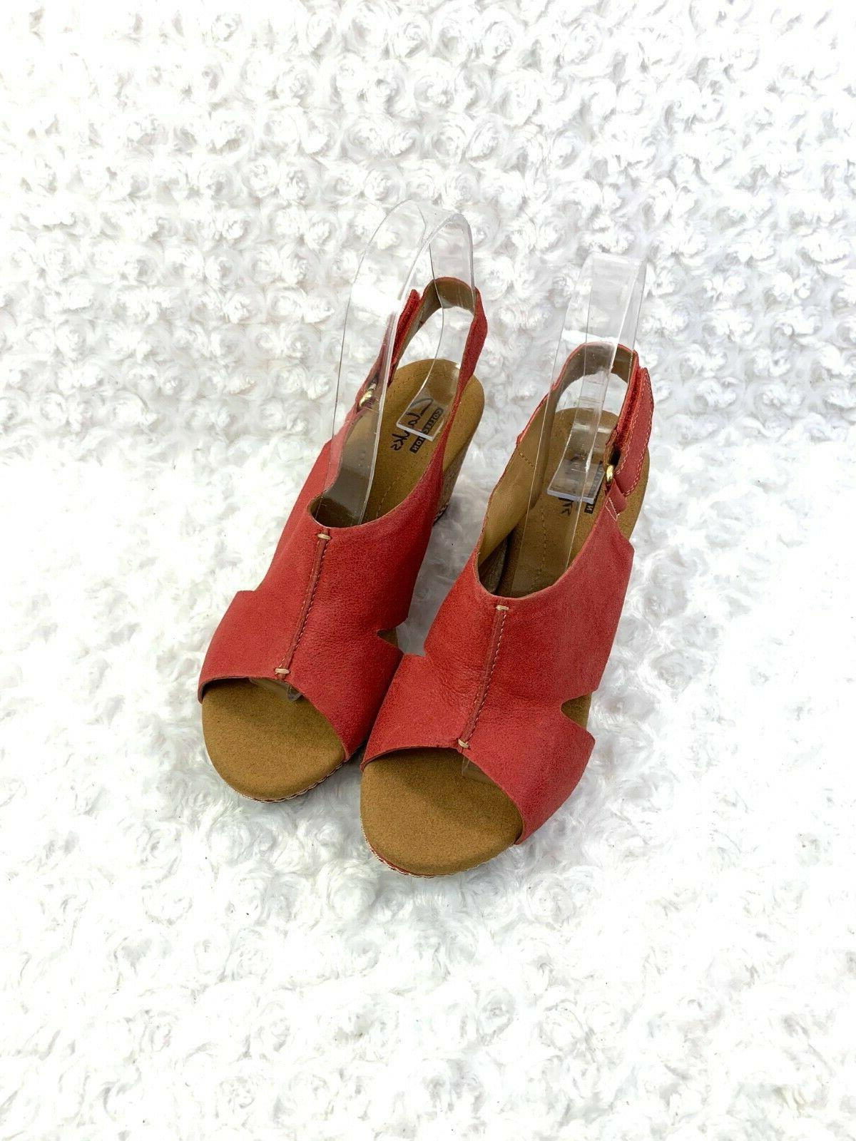 Women's Collection Red Suede US 37.5