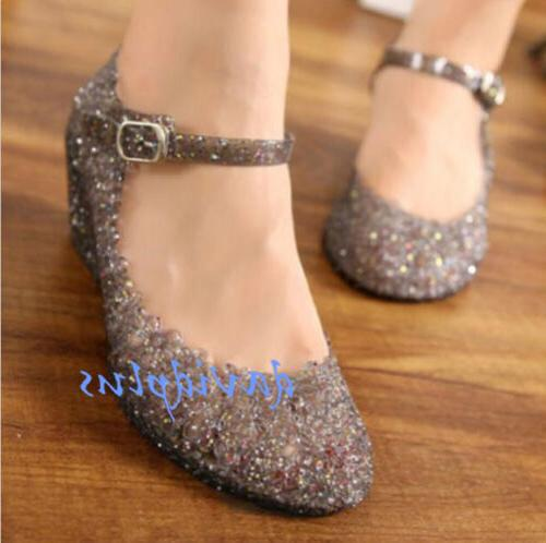 Womens shoes Wedge Jelly Shoes